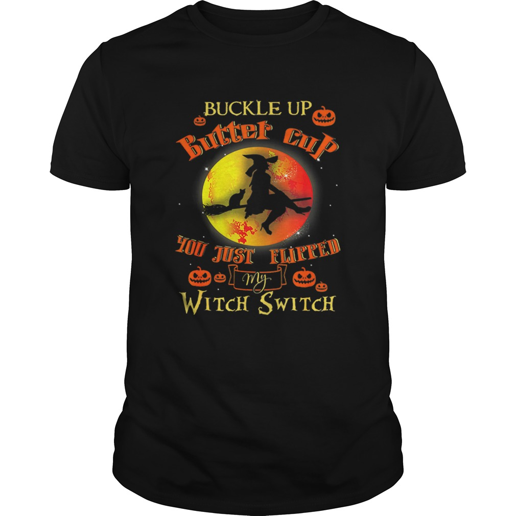 Witch Buckle Up Buttercup Mom Gift Halloween Witches shirt Classic Men's