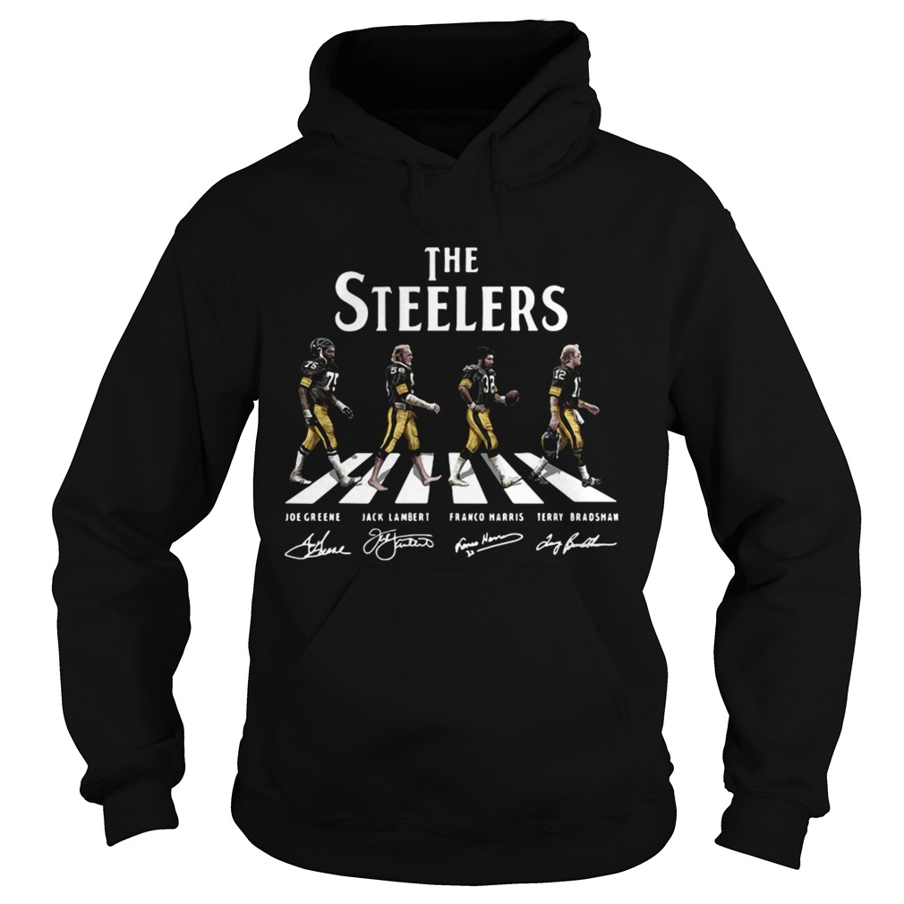 abbey road the steelers signature  hoodie