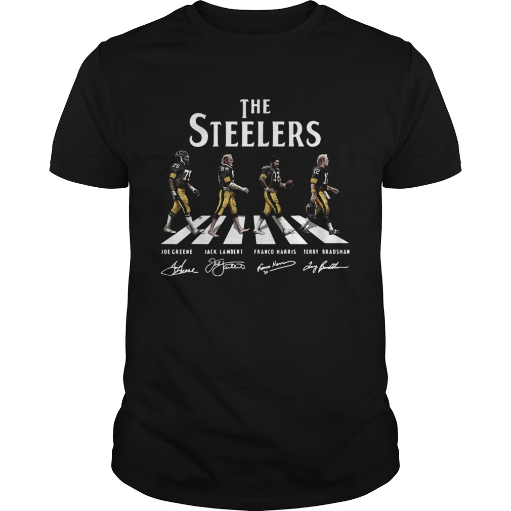 Abbey Road The Steelers signature shirt Classic Men's