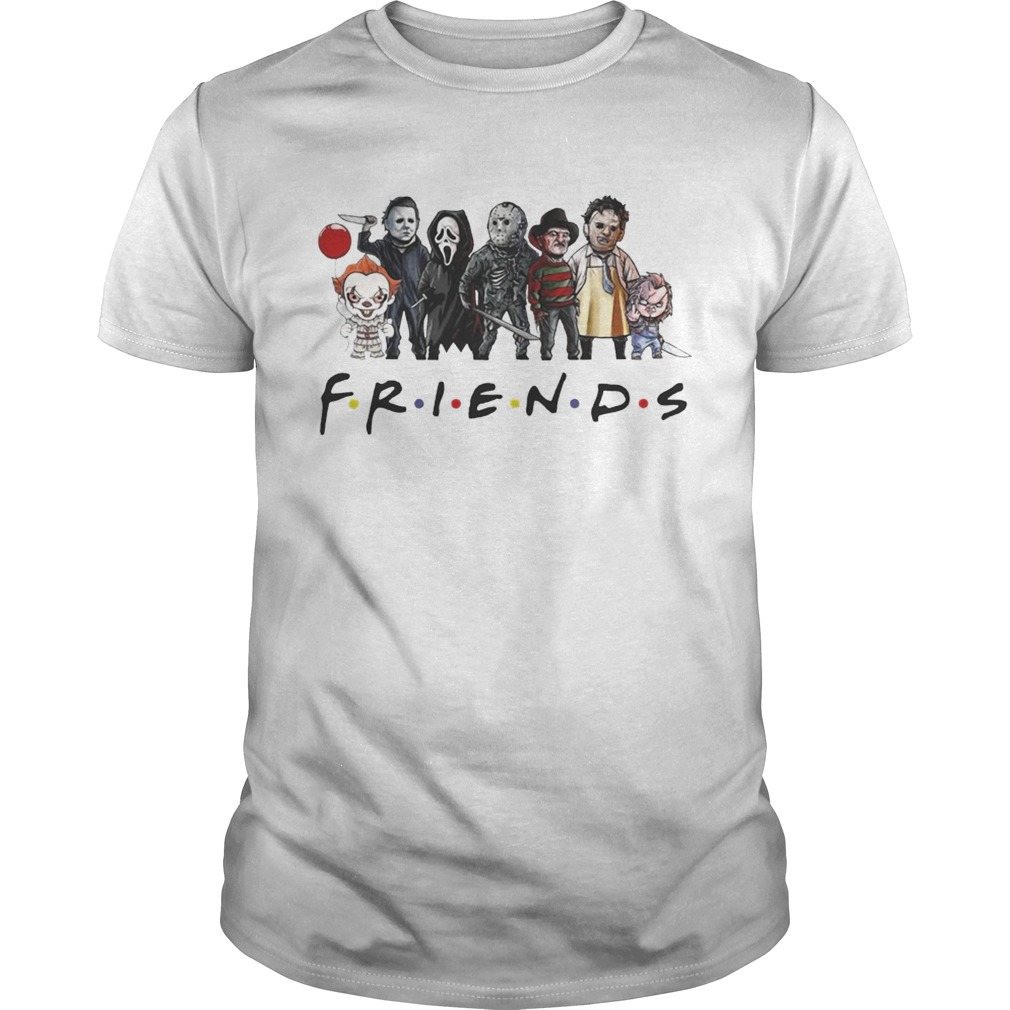 Friends horror characters chibi shirt Classic Men's