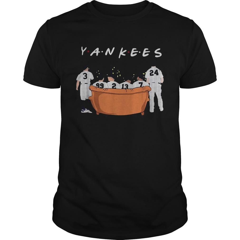 Friends TV show New York Yankees shirt Classic Men's