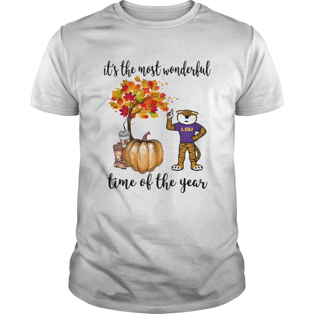 LSU its the most wonderful time of the year shirt Classic Men's
