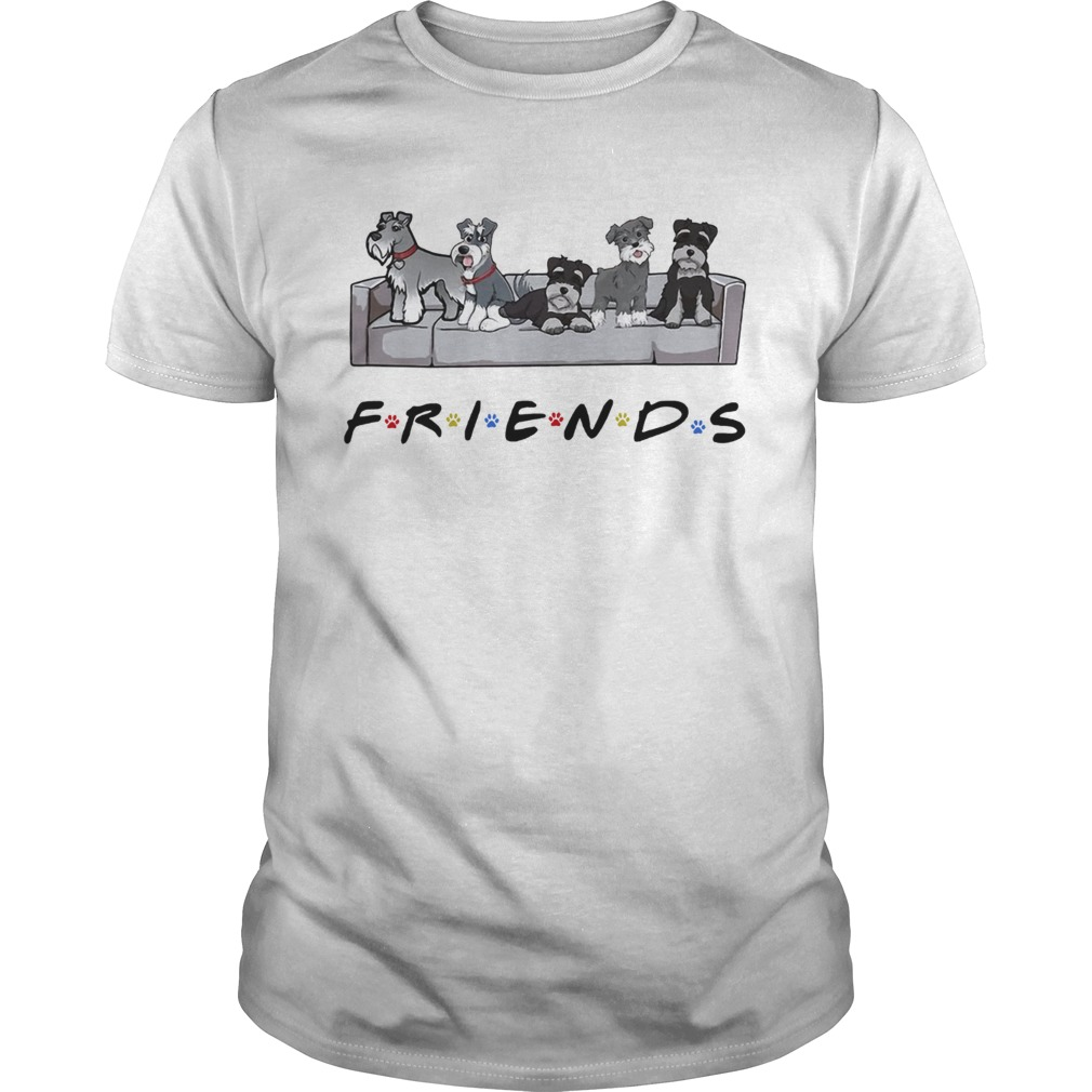 Miniature Schnauzer friends tv show shirt Classic Men's