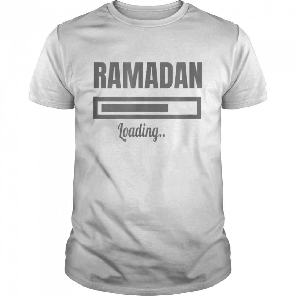 RAMADAN and ramadan loading shirt