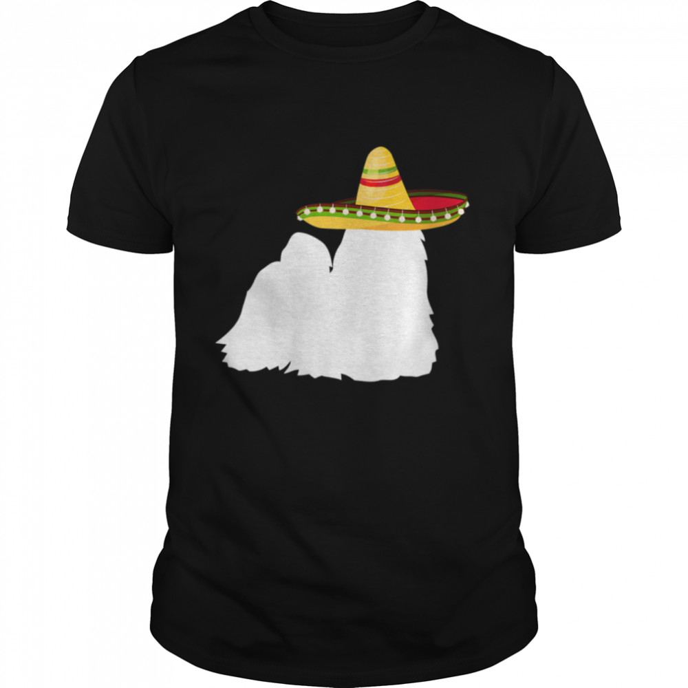Shih Tzu Sombrero Cinco De Mayo Dog Shirt