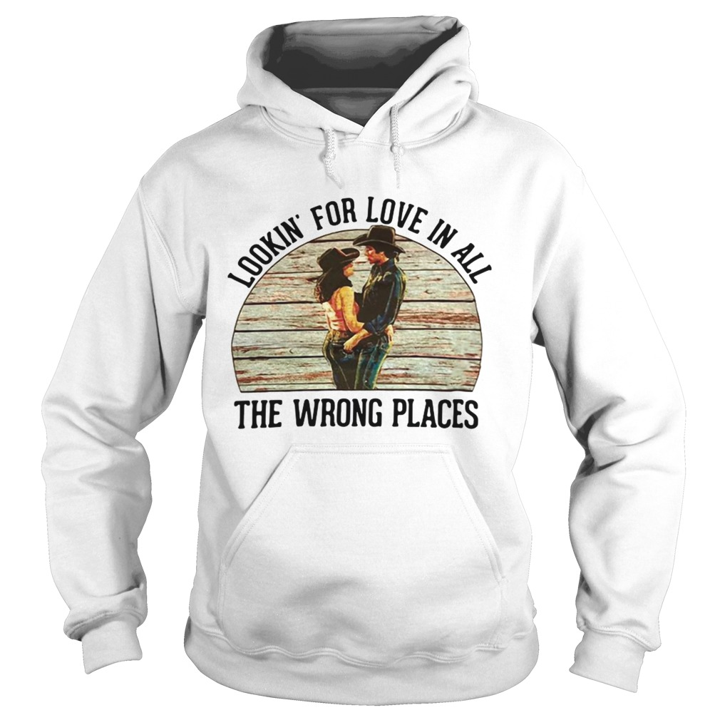 urban cowboy lookin for love in all the wrong places  hoodie