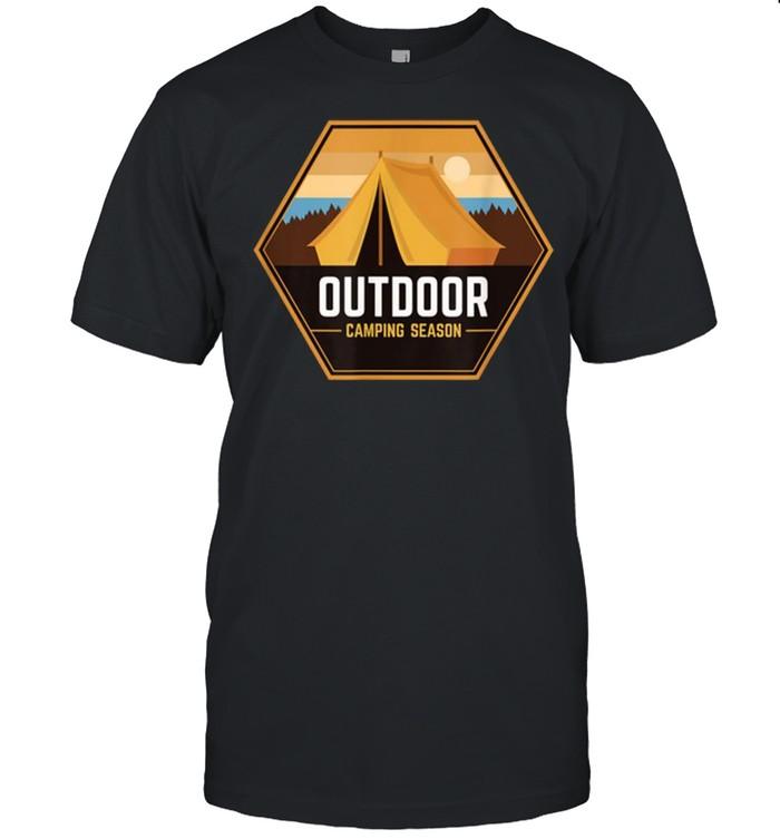 Outdoor Camping Season  Classic Men's T-shirt