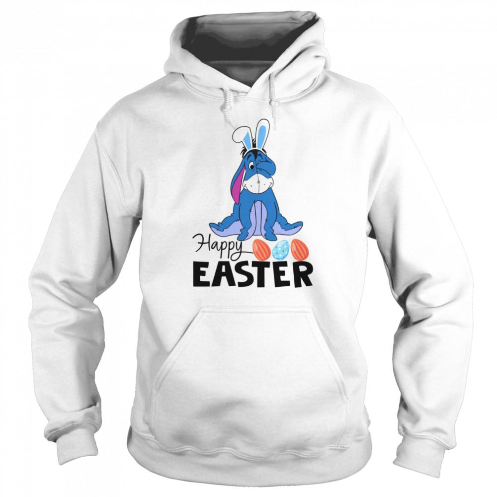 Eeyore Happy Easter shirt Unisex Hoodie