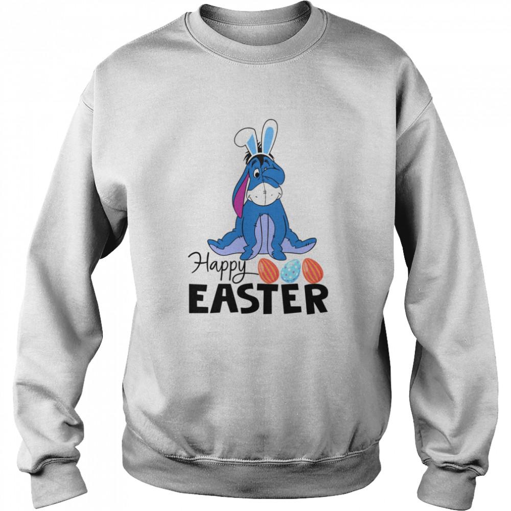 Eeyore Happy Easter shirt Unisex Sweatshirt