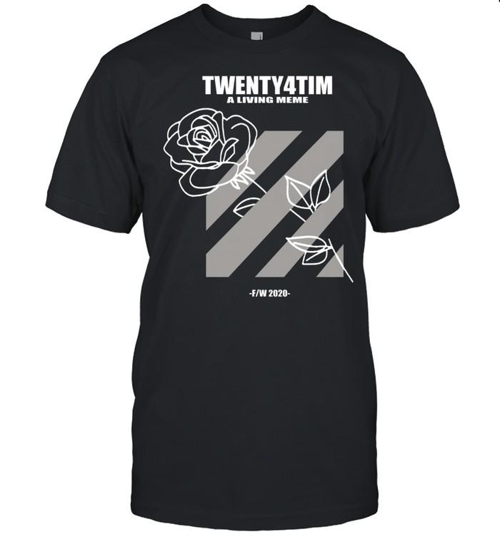 Twenty4tim Wonderful Rose shirt Classic Men's T-shirt