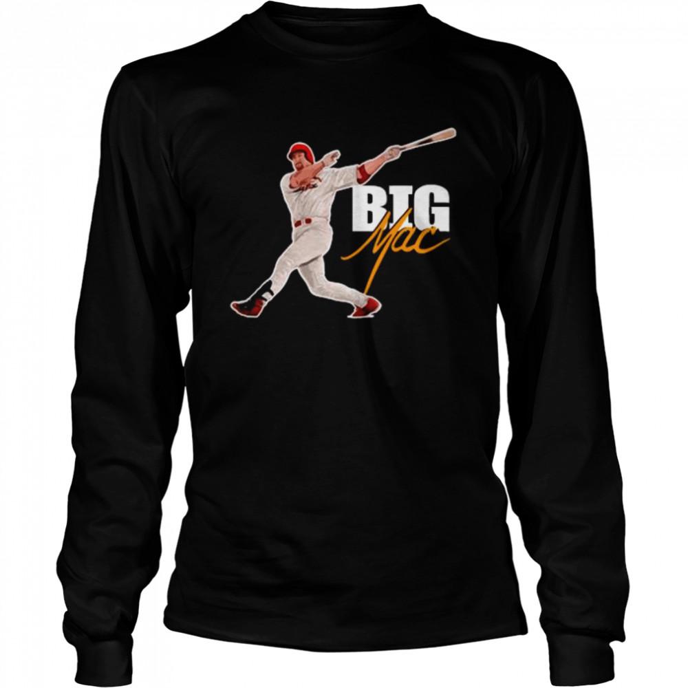 Big Mac Legends shirt Long Sleeved T-shirt