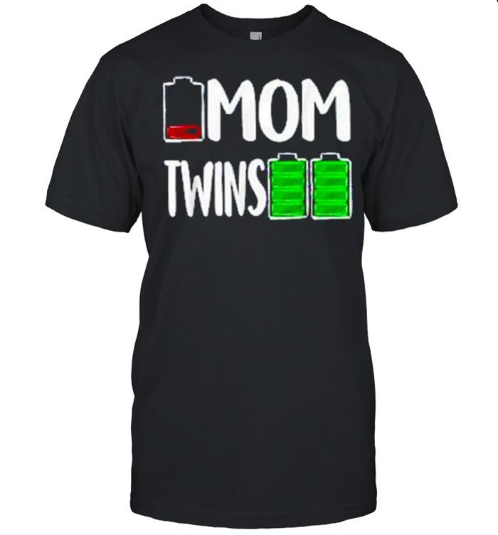 Low Battery Mom Twins  Classic Men's T-shirt