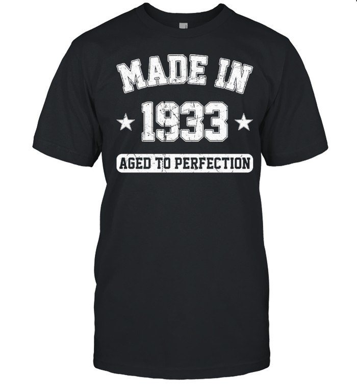 Made In 1933 aged to perfection shirt Classic Men's T-shirt