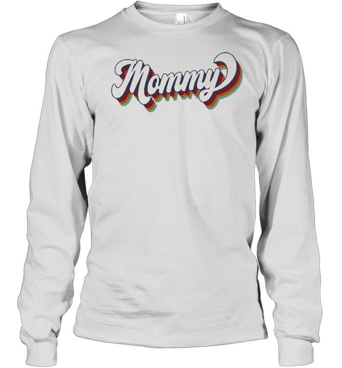 retro mommy shirt long sleeved t shirt