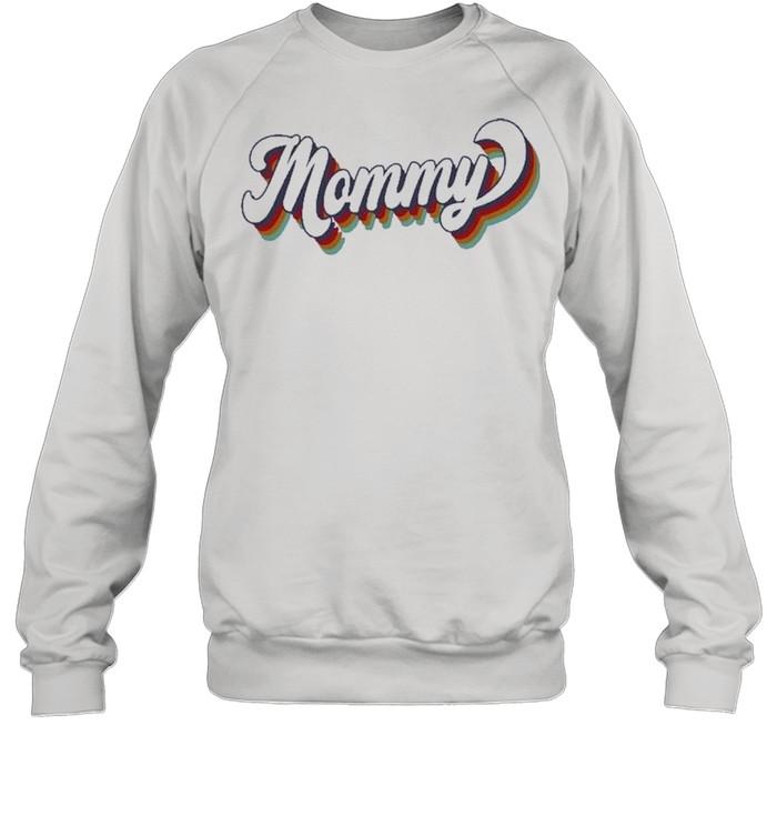 retro mommy shirt unisex sweatshirt