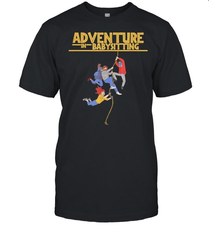 Babysitter Nanny Adventure Babysitting Journey  Classic Men's T-shirt