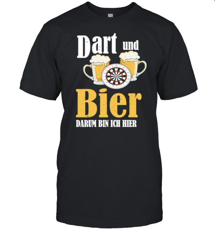 Bier Spruch Bullseye Evolution Papa Darten Jungs  Classic Men's T-shirt