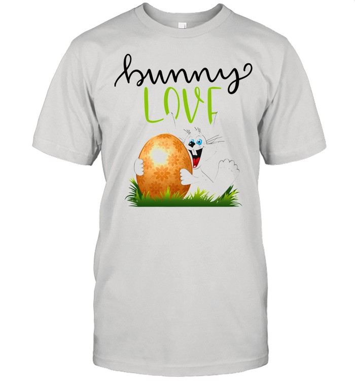 Bunny Rabbits Easter Day Egg Chocolate  Classic Men's T-shirt