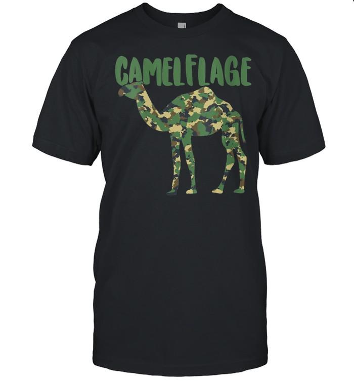 Camel Camouflage Pun Desert Animal  Classic Men's T-shirt