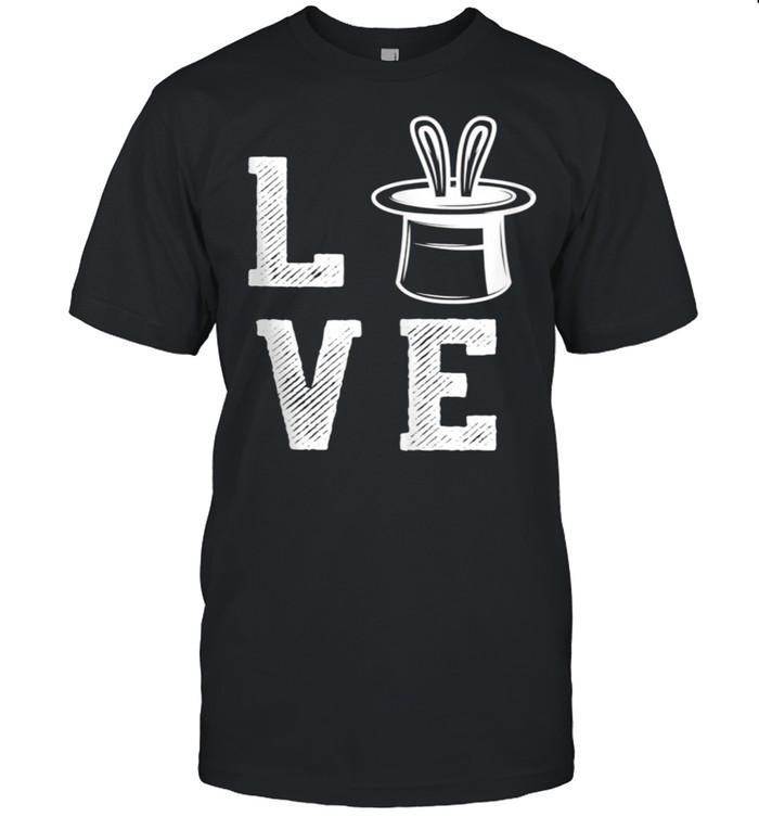 Love Magic Show Wizard Dark Magician  Classic Men's T-shirt