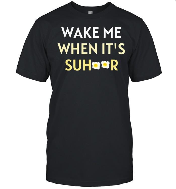 ramadan 2021 wake me when its suhoor shirt Classic Men's T-shirt