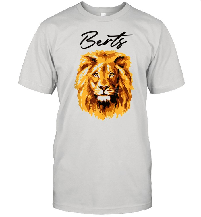 3D Lion Art By Berts shirt Classic Men's T-shirt