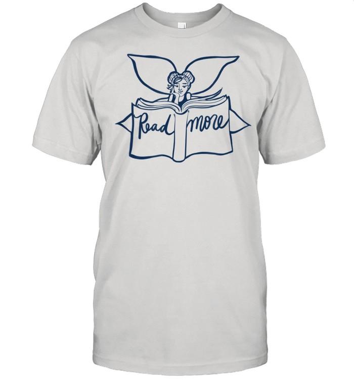 I Love Reading Fairy Art Read More hirt Classic Men's T-shirt