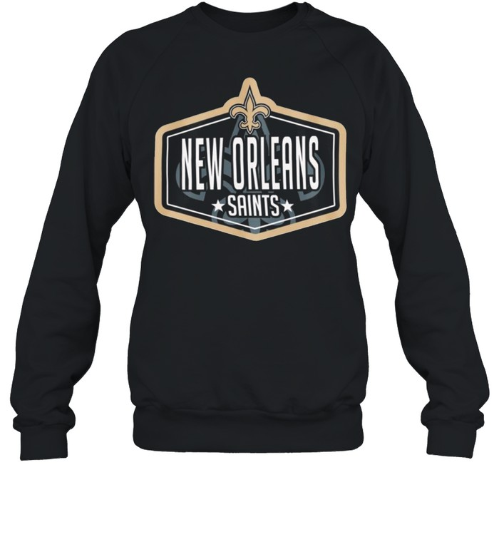 New orleans saints new era 2021 nfl draft hook shirt Unisex Sweatshirt