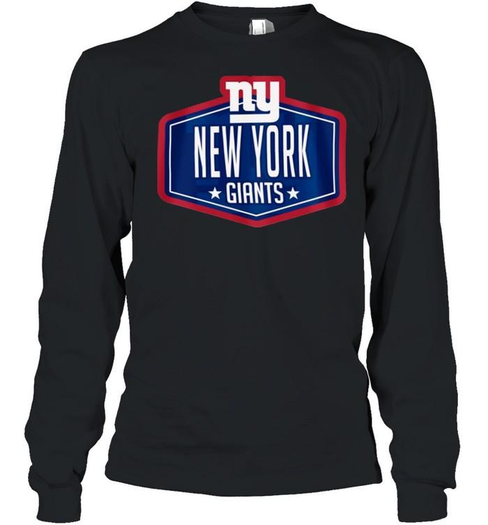 New york giants new era 2021 nfl draft hook shirt Long Sleeved T-shirt