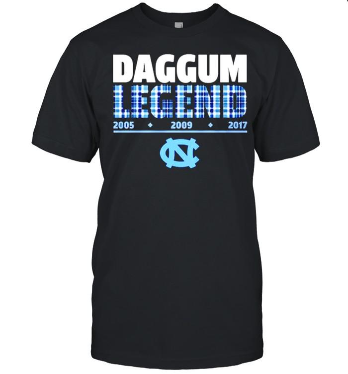 North Carolina Tar Heels Roy Williams Daggum Legend  Classic Men's T-shirt
