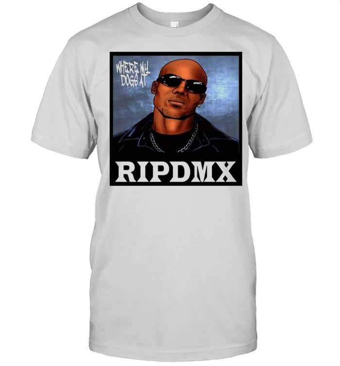 Rip DMX Where My Dog At shirt Classic Men's T-shirt