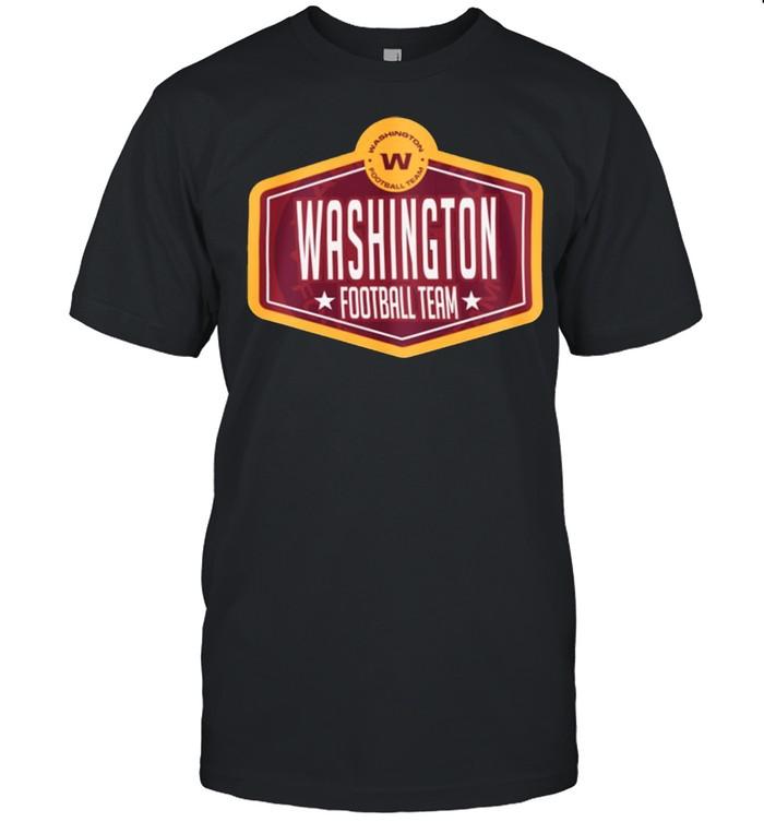 Washington football team new era 2021 nfl draft hook shirt