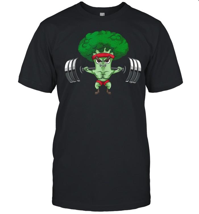 Powerlifting Broccoli Keto Cute Lifter Vegans shirt Classic Men's T-shirt