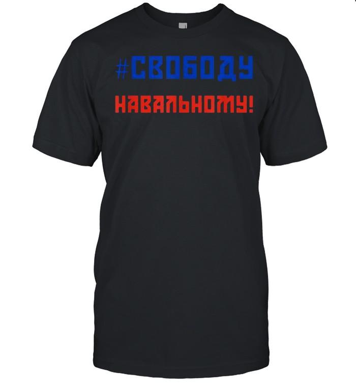 Free Navalny Freedom For Navalny  Classic Men's T-shirt