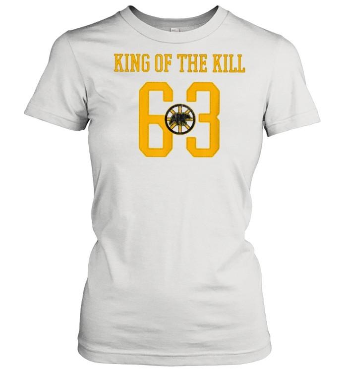 42 north boston hockey shorthanded king  classic womens t shirt
