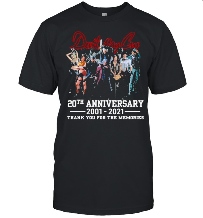 Duril May Cry 20th Anniversary 2001 2021 Thank You For The Memories  Classic Men's T-shirt
