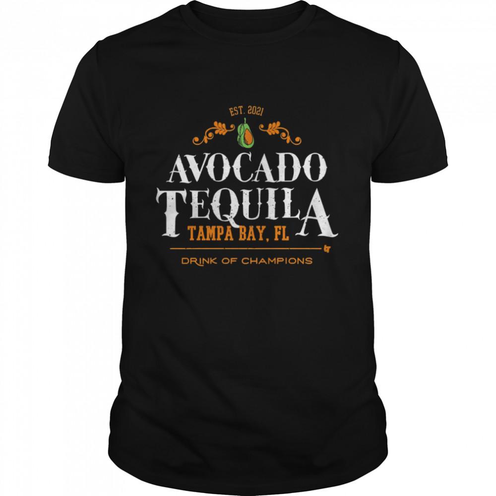 Avocado tequila tampa bay florida drink of champions shirt Classic Men's T-shirt