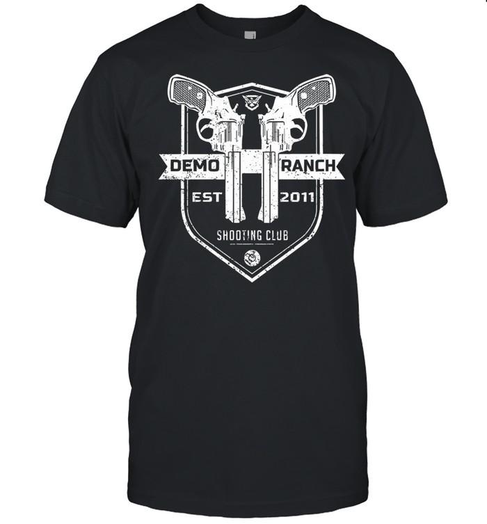 Demolition ranch demo ranch shooting club pocket shirt Classic Men's T-shirt