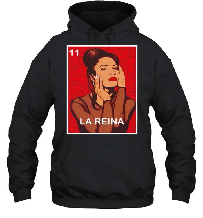 la reina vintage selenas quintanilla shirt unisex hoodie