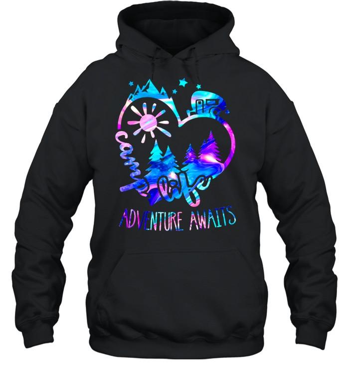 life adventure awaits shirt unisex hoodie