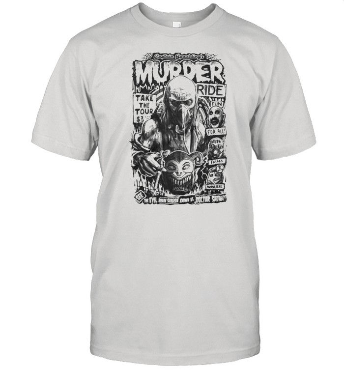 House Of 1000 Corpses Murder Ride  Classic Men's T-shirt