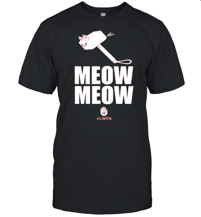 Meow Meow Human shirt Classic Men's T-shirt