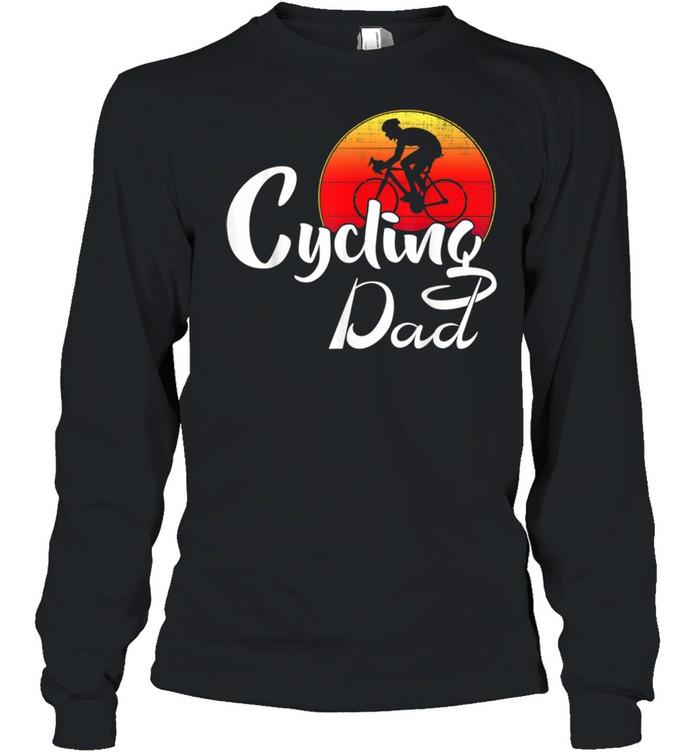 cycling dad shirt long sleeved t shirt