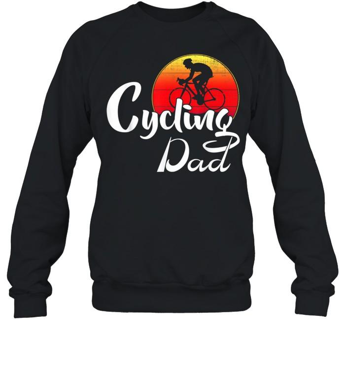 cycling dad shirt unisex sweatshirt