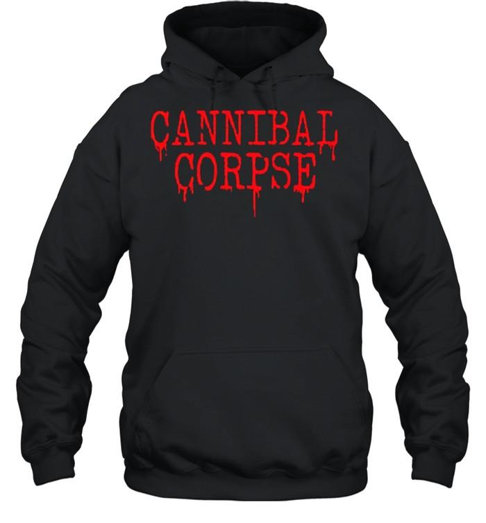 cannibal corpse shirt unisex hoodie