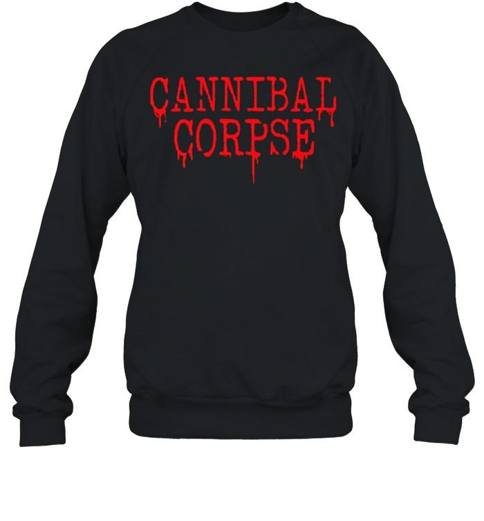 cannibal corpse shirt unisex sweatshirt