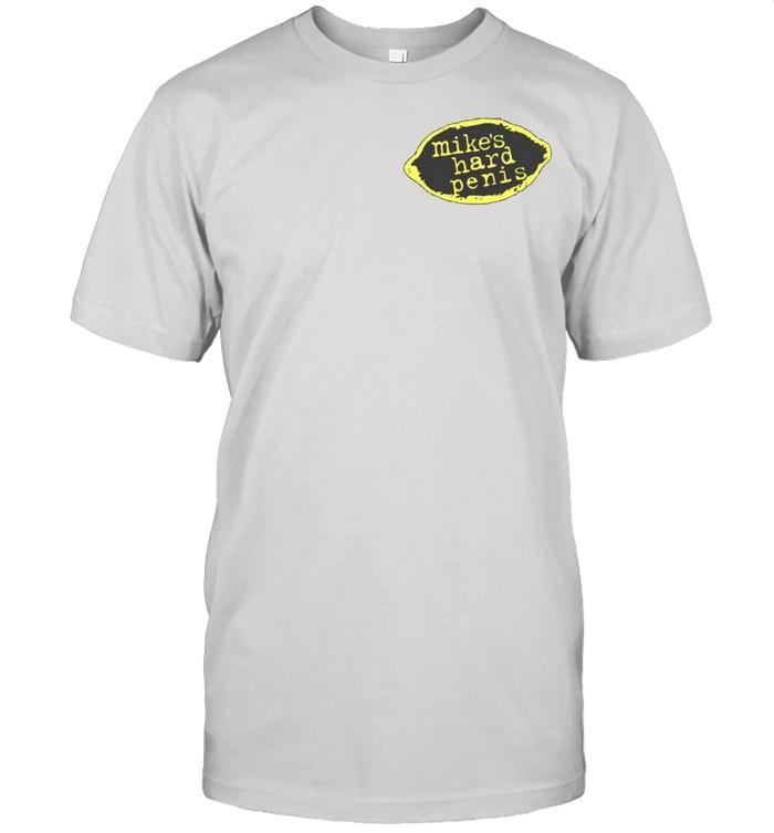 mikes hard penis shirt Classic Men's T-shirt