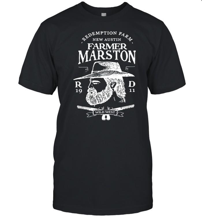 Farmer marston redemption farm new austin 1911 shirt Classic Men's T-shirt