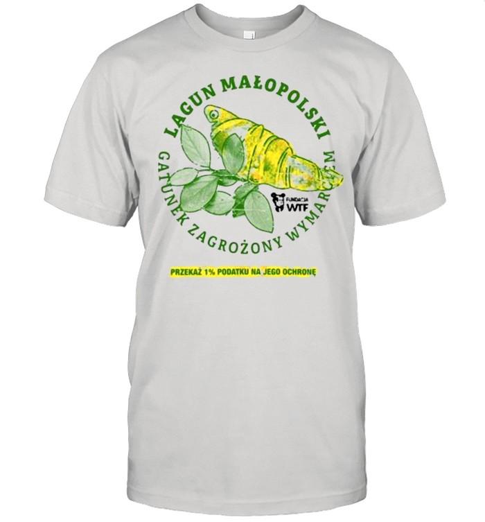Lagun malopolski gatunek zagrozony wymarciem przekaz 1′ podatku na jego ochrone shirt Classic Men's T-shirt