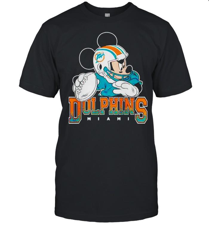 Miami Dolphins Disney Mickey shirt Classic Men's T-shirt